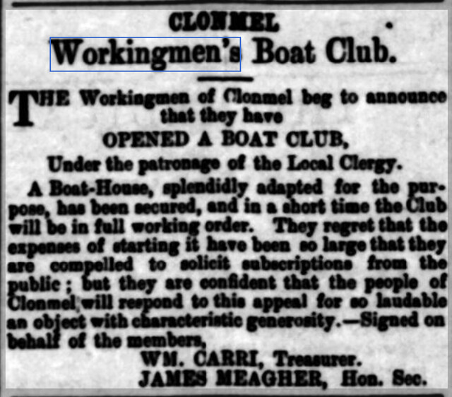 Clonmel Chronicle - Wednesday 13 July 1887