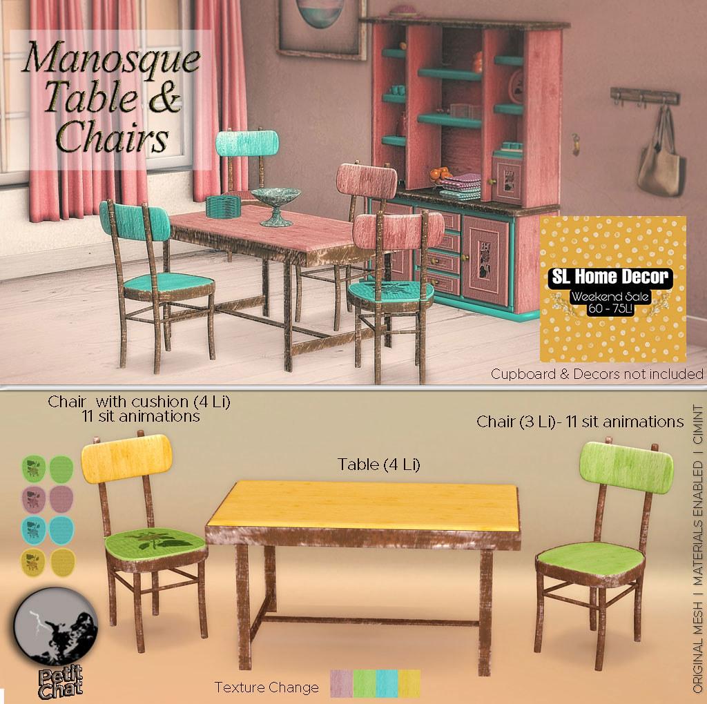 Petit Chat @ SL Home Decor Weekend Sale (Sept10/12th)