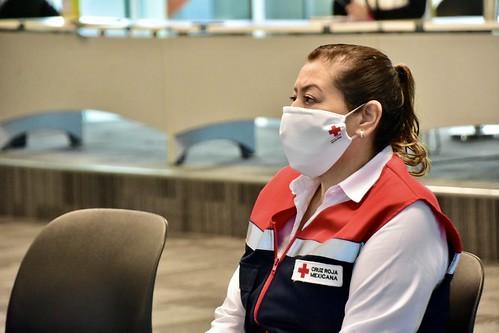 Entrega de Colecta Anual por parte del Ayuntamiento de Tlajomulco a la Cruz Roja Mexicana