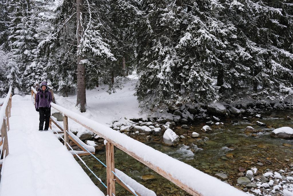 Winter in the High Tatras of Slovakia