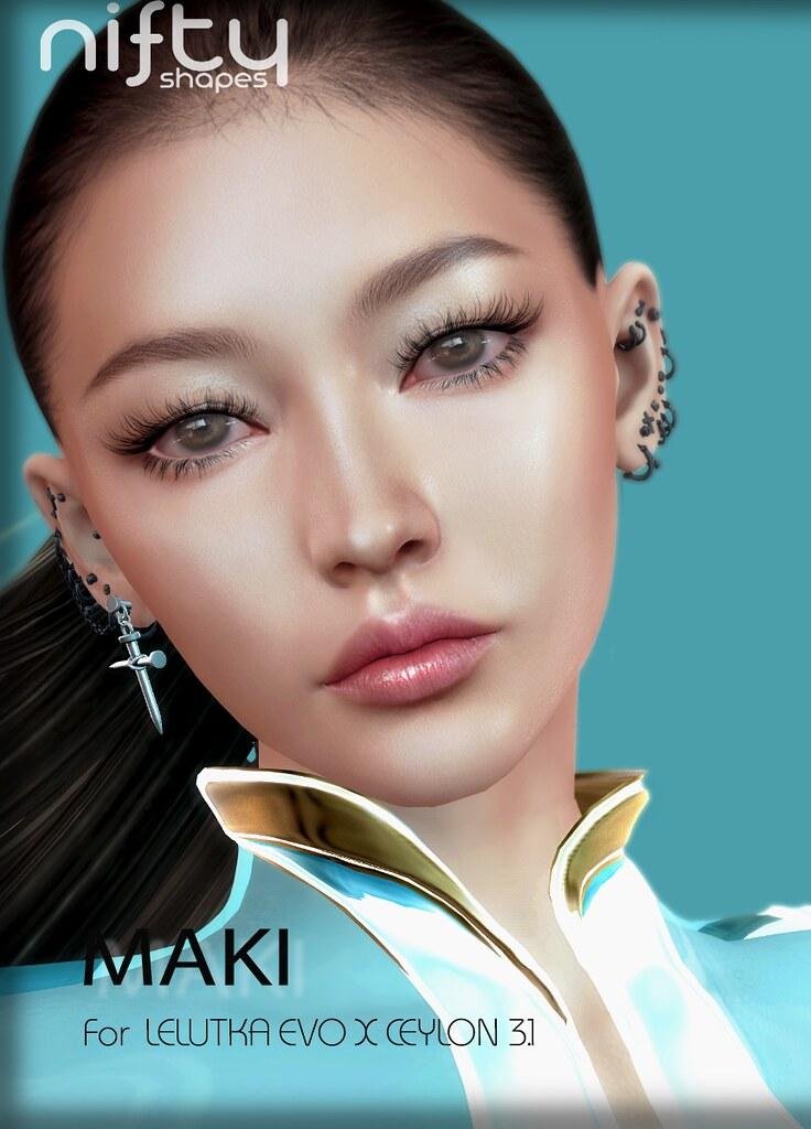 :NiFty: MAKI  shape for Lelutka Evo X CEYLON