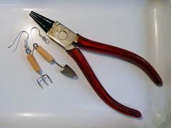 Earrings & Pliers