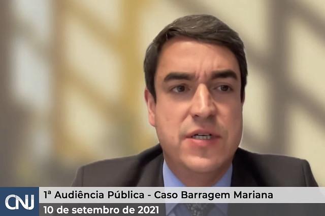 10/09/2021 1ª Audiência Pública - Caso Barragem Mariana - Tarde
