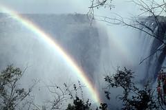 ZW Victoria Falls eastern cataract - 1965 (W65-A72-07)