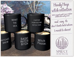 .spruce. moody mugs: witch edition