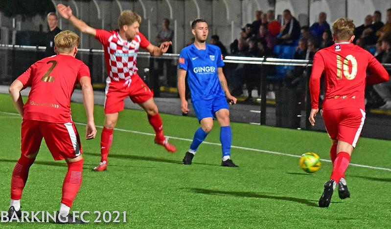 Barking FC v Tilbury FC - Friday September 10th 2021