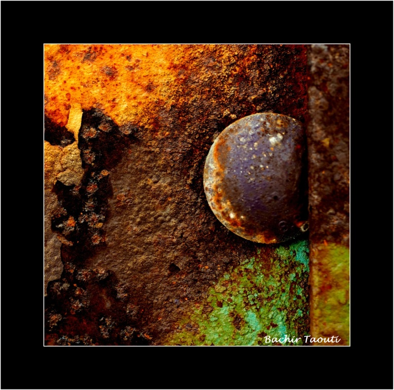 Rust abstract -3