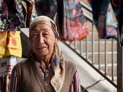 The kyrgyz salleswoman