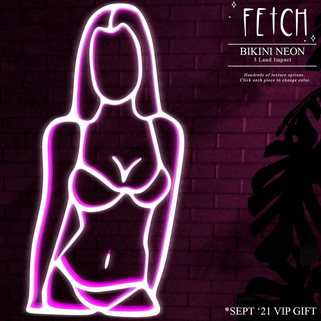 [Fetch] Bikini Neon – VIP Gift – Sept' 21