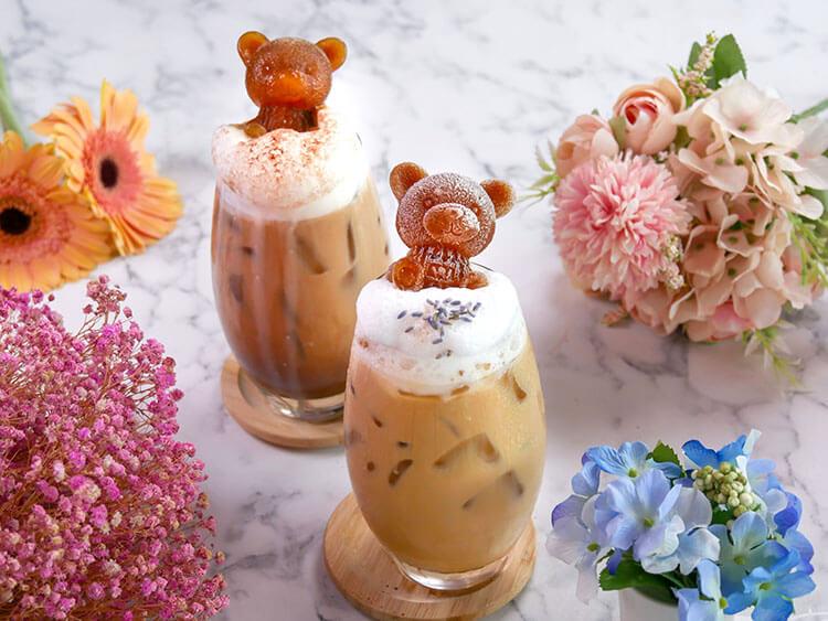Insta-worthy Bear Lattes