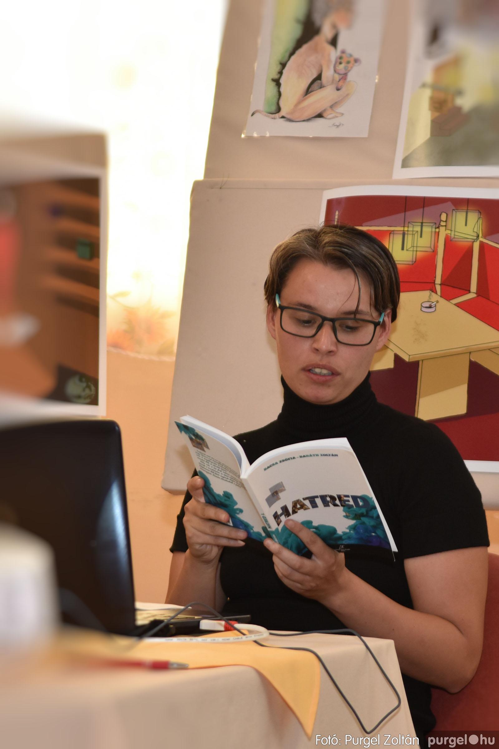2021.09.10. 006 Bacsa Zsófia és Baráth Zoltán Hatred c. könyvének bemutatója - Fotó:PURGEL ZOLTÁN© .jpg