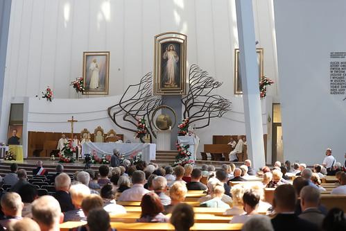 Pielgrzymka Kolejarzy do Sanktuarium Bożego Miłosierdzia