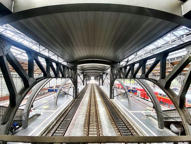 Next stop, Lübeck Central Station!