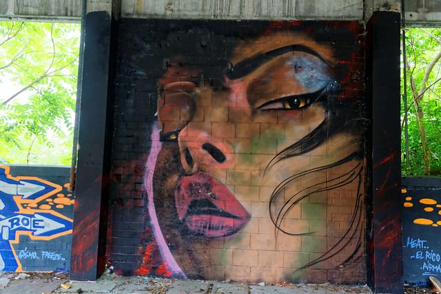 Graffiti 2021 in Mannheim