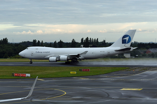 CAL Cargo Air Lines Boeing 747-4EVF(ER) 4X-ICA