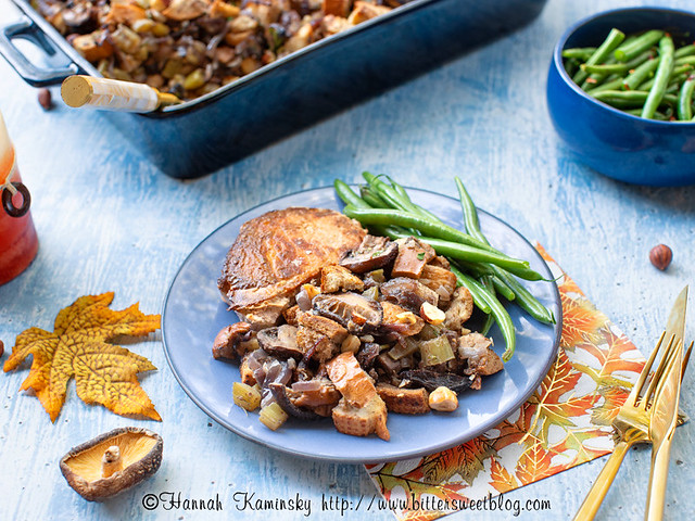 Browned Butter Mushroom Stuffing 3