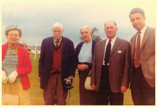At Slinfold Flower Show in 1967