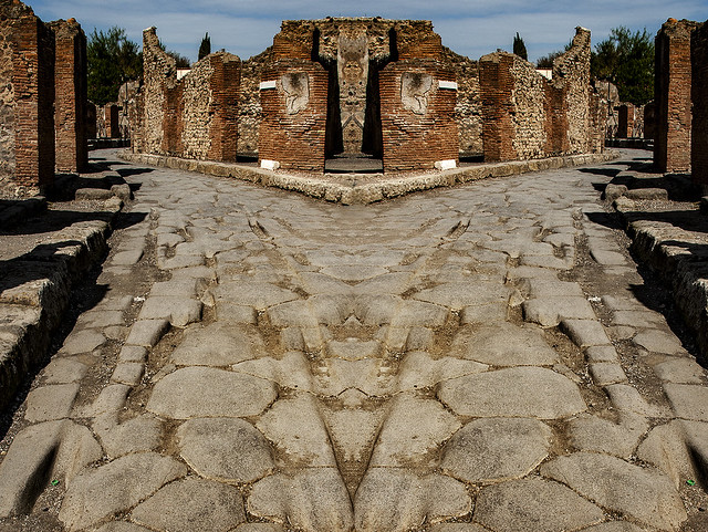 An about face on Pompeii