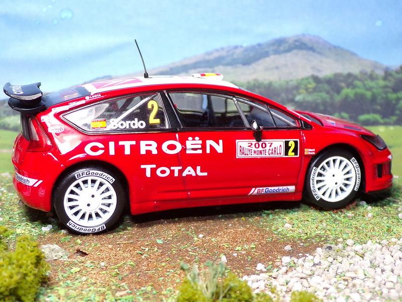 Citroën C4 WRC – Montecarlo 2007