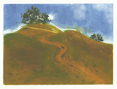 Red Hill Print 1