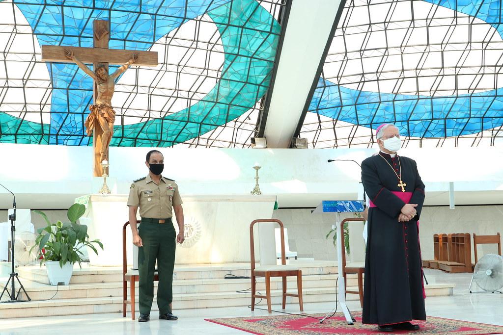 A Arquidiocese Militar celebra os 60 anos do Grupamento de Fuzileiros na Catedral de Brasília