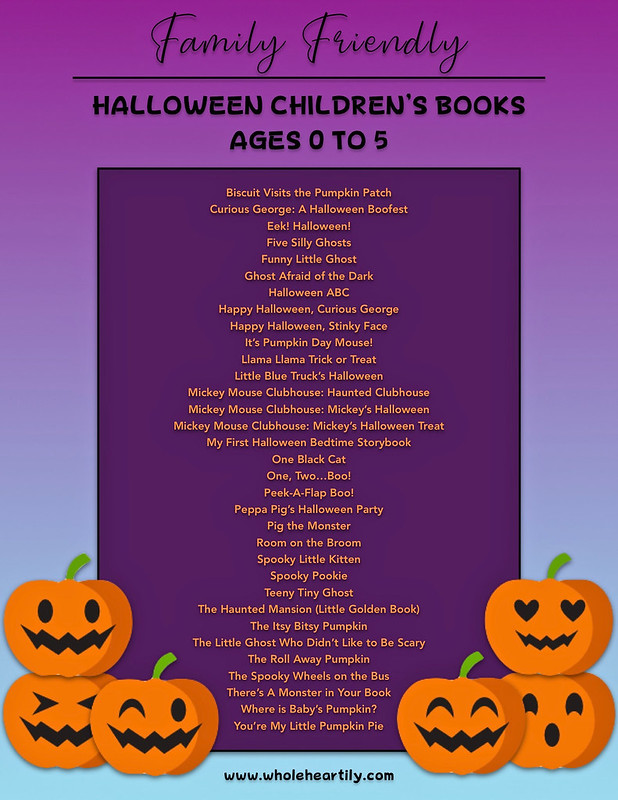 Family Friendly Halloween Books