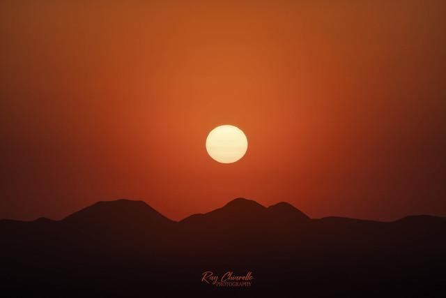 Smoky Sunset (1 of 2)