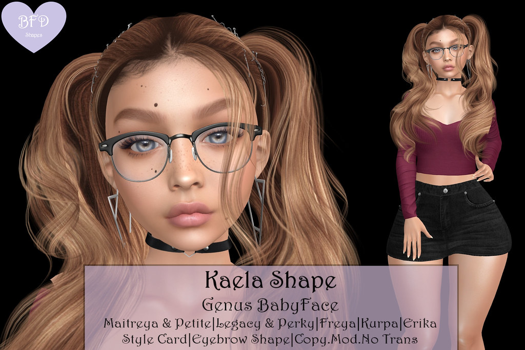 {BFD} Shapes - Kaela Shape - Genus Babyface ♥♥ New Release for The Weekly Limited!! ♥♥
