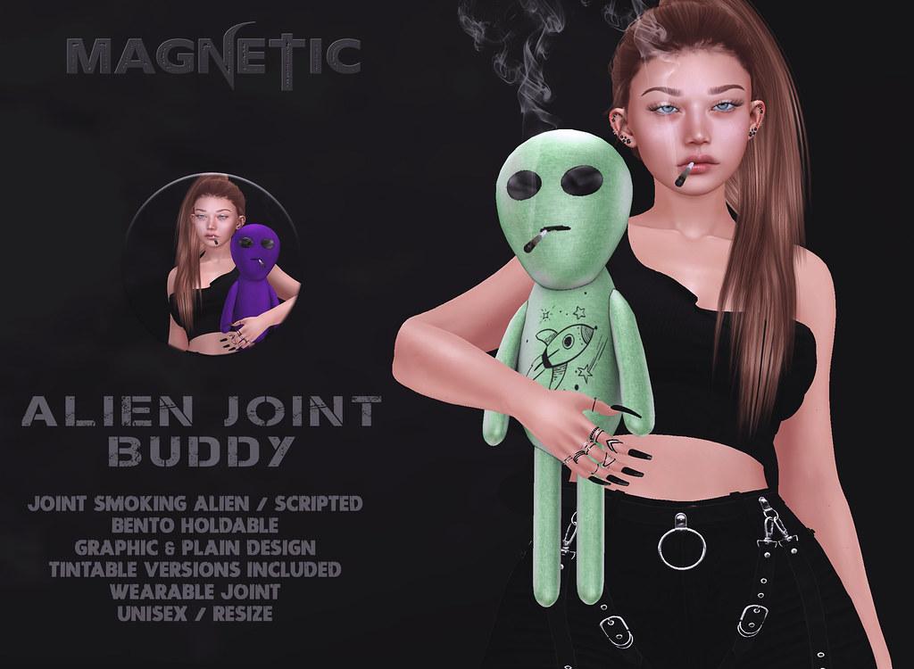 Magnetic – Alien Joint Buddy