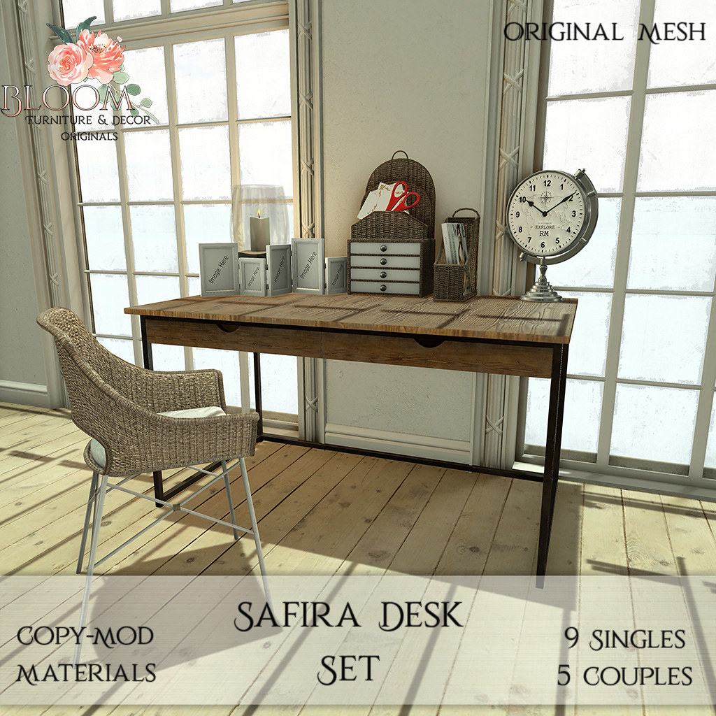 Bloom! Originals - Safira Desk SetAD