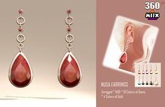 3.sixty - Nusa Earrings - Miix Weekend Sales