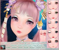 *{ SeVered GarDeN }* GNAGNA Skin – M4 AnnieMay / Chibi / Anime Head