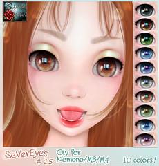 *{ SeVered GarDeN } * SeVerEyes # 15 – M3/M4