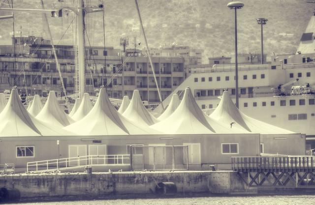 palermo, zona del porto