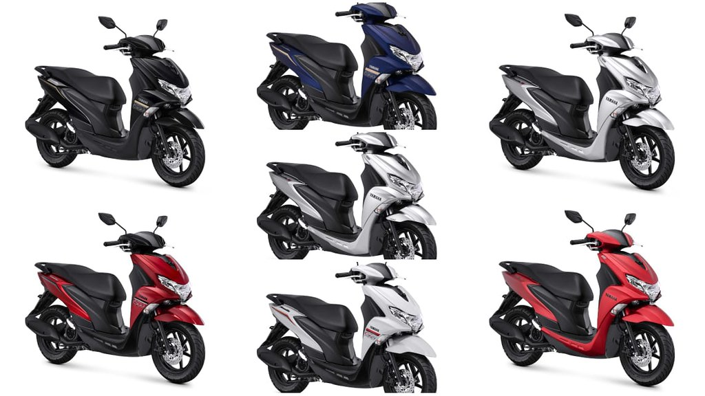 Yamaha FreeGo New Colour 2021