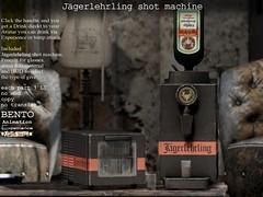 Jägerlehrling shot machine