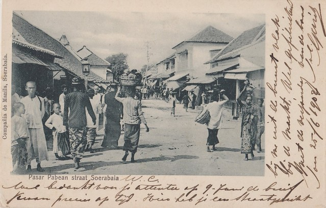 Surabaya - Pasar Pabean, 1902