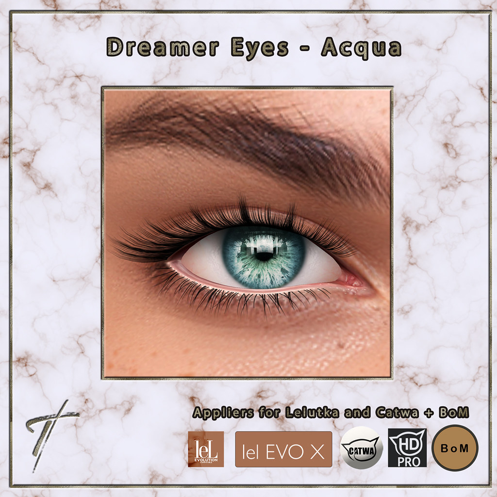 Tville – Dreamer Eyes *Acqua* – Now Available in Our New Store!