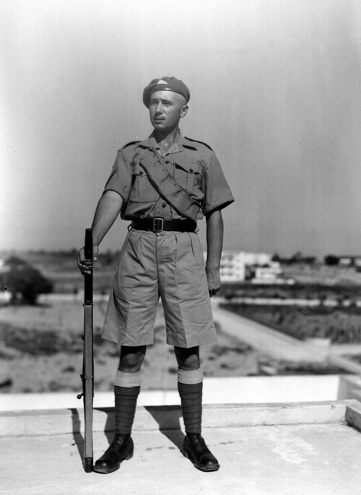 1939. Член Еврейской поселенческой полиции. 17 июня