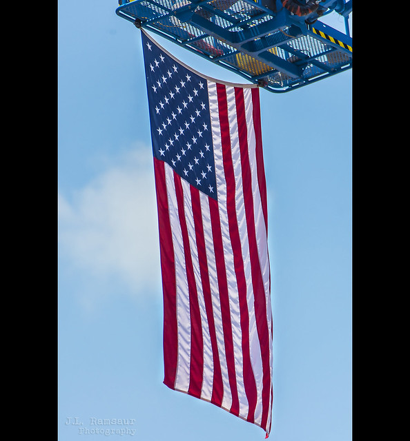 NEVER FORGET 9.11.01 - American Flag - 20 Years Later