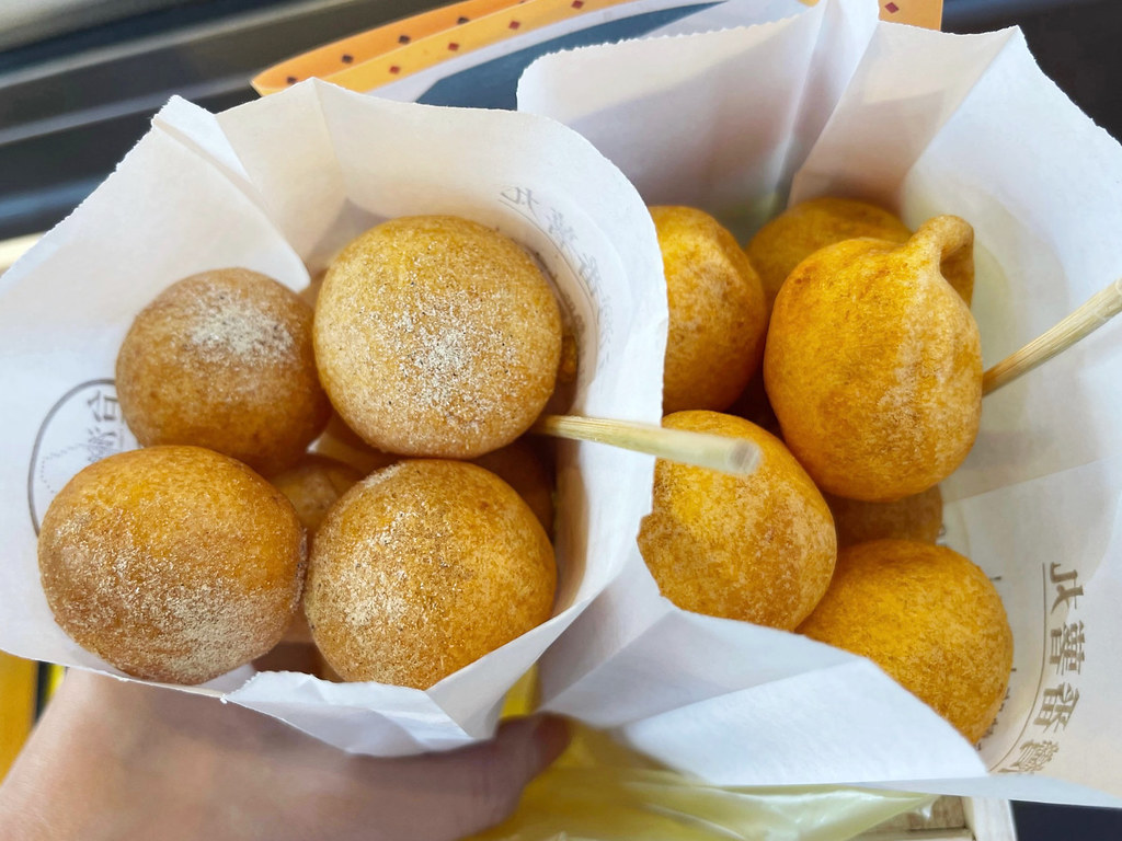 三重地瓜球,台灣番薯丸手作地瓜球 @陳小可的吃喝玩樂