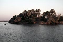 ZW Victoria Falls sunset boat trip on the Zambezi River - 1965 (W65-A73-14)