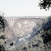 ZW Victoria Falls eastern cataract and bridge - 1965 (W65-A72-10)