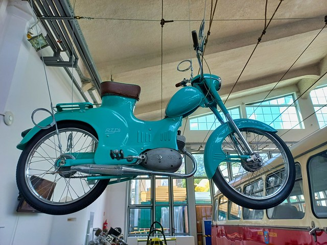 Museum of Technology and Transport in Szczecin, Poland