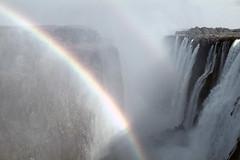 ZW Victoria Falls eastern cataract - 1965 (W65-A72-03)
