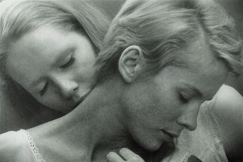 Liv Ullmann and Bibi Andersson in Persona (1966)