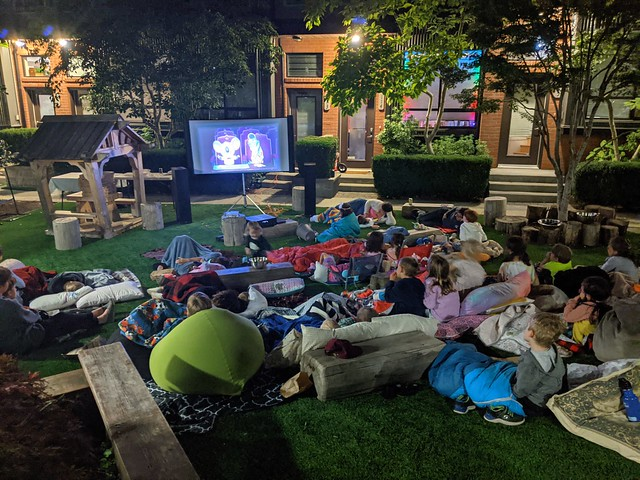 Movie Night at the Works