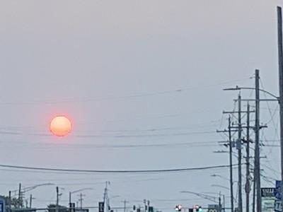 Sunrise on Friday Morning in Topeka