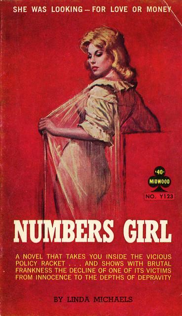 Midwood Books Y123 - Linda Michaels - Numbers Girl