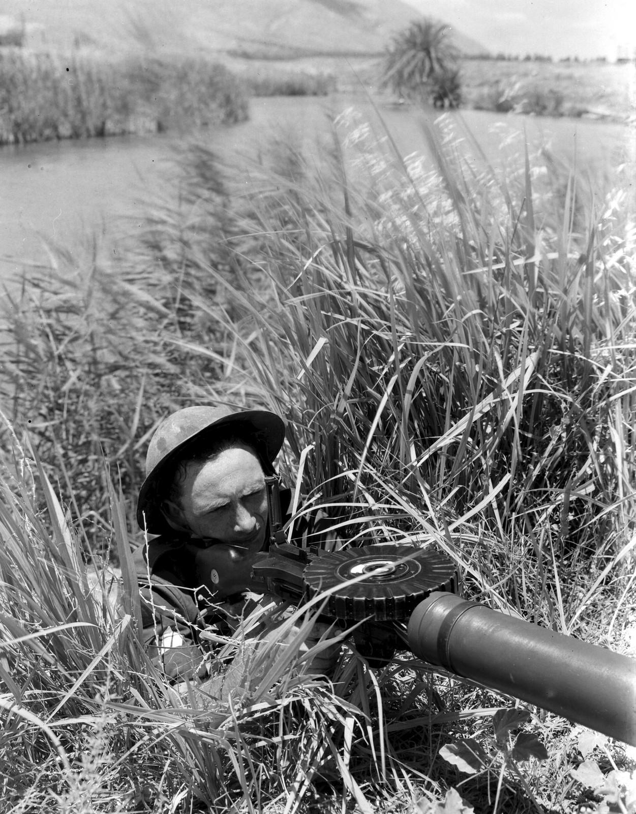 1939. Член поселенческй полиции на третировке в Нахаль Амаль. 18 июня